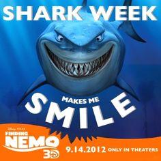 Shark Week makes me smile