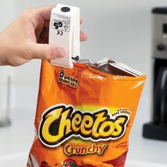 Chip Clip Bag Resealer / Never let your bag of Doritos go stale anymore by keeping the Chip Clip Bag Resealer with you always. http://thegadgetflow.com/portfolio/chip-clip-bag-resealer/