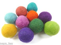 Holiday 160716: Woolen Felt Pom Pom Craft Balls Galrand 2Cm 20Mm Christmas Decoration Treat -> BUY IT NOW ONLY: $82.99 on eBay!