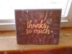 Thanks so much card!