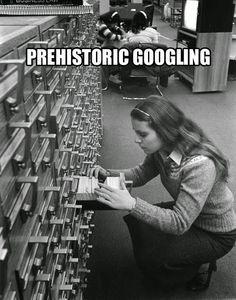Before Google.