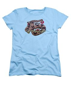 Have to be Boa Womens T-Shirt in light blue by Donovan Winterberg.  Other shirt styles and colors also available.