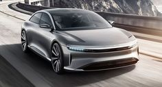 Lucid Air Unveiled With Stunning Design, 1,000 HP And 400 Mile Range #Electric_Vehicles #Galleries