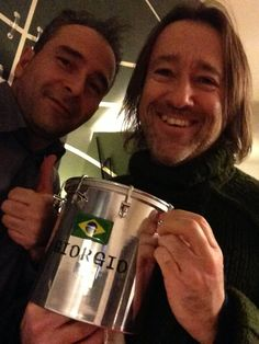 Georginho...my friend...with cuica