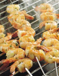 Petrezselymes és fokhagymás rák Shrimp, Cake Recipes, Seafood, Grilling, Food And Drink, Cooking Recipes, Yummy Food, Meals, Foods