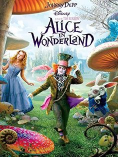 Alice in Wonderland. Years after her first visit to Underland, Alice returns to confront the sadistic Red Queen in this inventive adaptation of Lewis Carrolls novels. Its up to Alice to slay the Jabberwocky thats been terrorizing Underlands peculiar folk. See Movie, Movie List, Movie Tv, Tim Burton, Walt Disney Pictures, Photomontage, Film Mythique, Movies Worth Watching, About Time Movie