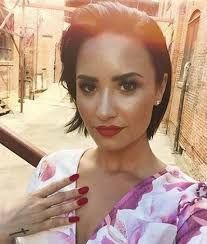 Image result for demi lovato hair short