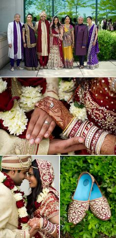 This week's Real Wedding on the Wedding Paper Divas blog features college sweethearts Alpa & Kavit and their stunning Indian wedding celebration.
