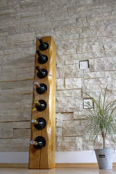 cool rustic wine racks home pinterest weinregale holz und wein. Black Bedroom Furniture Sets. Home Design Ideas