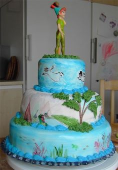 Peter Pan cake (angle 6/6) by Pannkakan on Cake Central