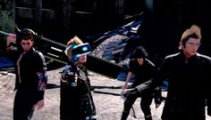VR Experience as Prompto in FF XV