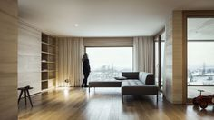 Jürgen Haller - Projekte Elevator Design, Hillside House, Modern, Curtains, Interior, Inspiration, Furniture, Home Decor, Style
