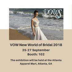VOW New World of Bridal will provide an unparalleled opportunity to discover top designers and lines, enjoy exciting celebrity keynotes and speakers, and a fashion shows that is unlike any other in the industry etc.   Join us in Atlanta and enjoy the exciting dresses by IRYNA KOTAPSKA😍 #irynakotapska
