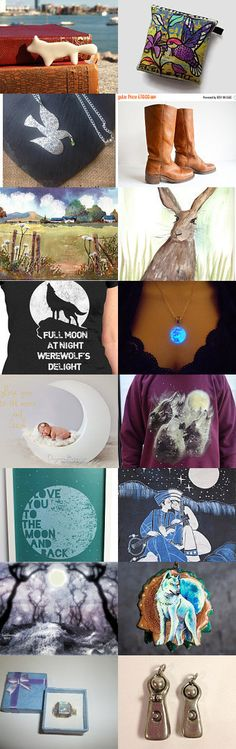 Full Moon by julie hutcheson on Etsy--Pinned with TreasuryPin.com
