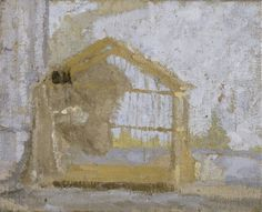 Gwen John, Birdcage, oil on canvas