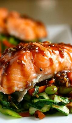 Asian Slow Roasted Salmon