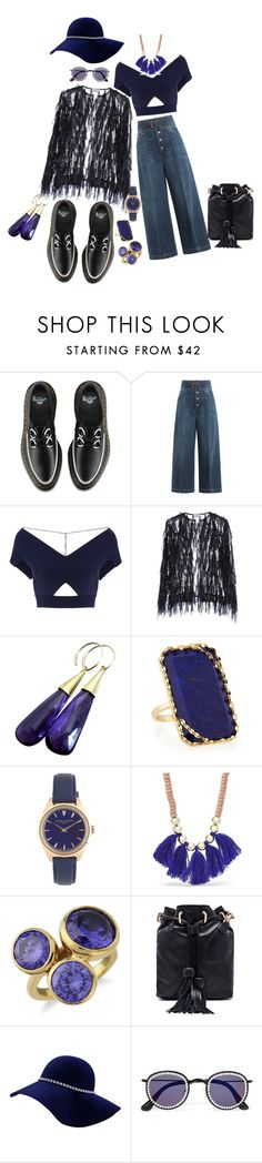 """Hope she likes Sailors"" by blujay1126 ❤ liked on Polyvore featuring Dr. Martens, RED Valentino, Roland Mouret, Dries Van Noten, Lana, J.Crew, FOSSIL, Krausz Jewellery, Foley + Corinna and Frēda Banana"