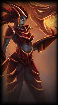 League of Legends Shyvana Build - tanky dps/ full dps/ jungler builds