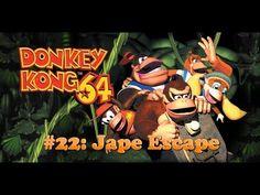Donkey Kong 64 Playthough #22: Jape Escape