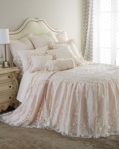 #SweetDreams Pink Bouquet Bedding at #NeimanMarcus