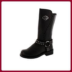HARLEY DAVIDSON Damenschuhe - Stiefel AIMEE - black, Schuhgröße:EUR 36 - Stiefel für frauen (*Partner-Link)
