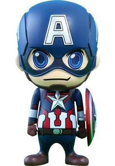 #Avengers #AgeOfUltron Cosbaby Series 1 #CaptainAmerica Vinyl Figure - Midtown Comics