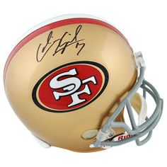 Colin Kaepernick San Francisco 49ers Autographed Riddell Mini Helmet