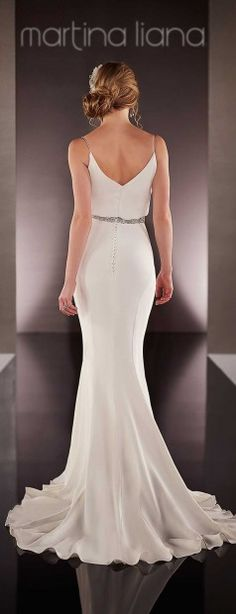 Martina Liana Spring 2016 Bridal Collection - Belle The Magazine