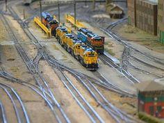 quinntopia - An N Scale blog: Train Show! UNW Model Railroad Club Show in Seattle*