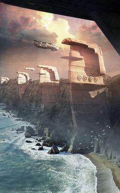 Mindblowing Sci-Fi 3D Renderings
