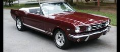 I had a car like this my senior year in high school 1979. I loved that car...     1966 Convertible Mustang.
