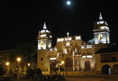 ayacucho peru | Ayacucho church by night, Ayacucho, Peru photo - One of my favorite places on earth
