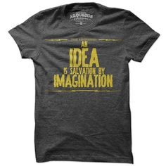 An Idea Is Salvation Tee Women's, $22, now featured on Fab. [Arquebus]