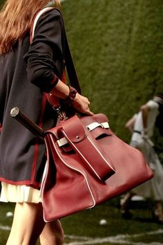 Hermes Tennis bag - by tonya Mode Tennis, Sport Tennis, Play Tennis, Tennis Bags, Tennis Gifts, Tennis Fashion, Sporty Fashion, Louis Vuitton, Hermes Handbags