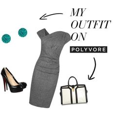 """""""perfect work outfit"""" by rminkoff on Polyvore"""