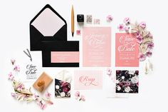 My Dear Paper - Wedding London collection - Photo by Cyrielle Mothas
