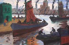 Barcos a pleno sol