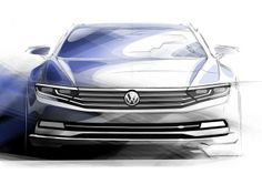 Moter Sounds : VW、新型パサートのイメージスケッチを公開