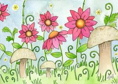 Emma Moon Cookie Gallery Print by mooncookiegallery on Etsy