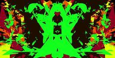 #AlchemyPatterns #colour #green #black #yellow #orange #red #brown #art #digital #design