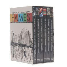 The Films of Charles and Ray Eames DVD Set $89