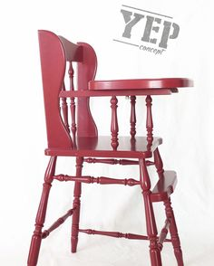 ... / Wooden High Chair on Pinterest  Vintage, Hams and Products