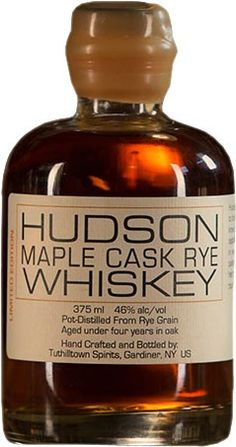 Aged for under four years in American oak casks, this rye is finished in maple syrup-cured whiskey barrels.
