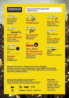 Barrakud 2014 - Electro-Festival auf der Insel Pag  - Zrce - Zrce Events - Get ready for Season 2015
