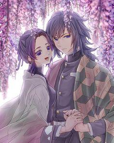 Shinobu Tomioka - Best of Wallpapers for Andriod and ios Chibi, Otaku Art, Anime Demon, Romantic Anime, Anime Fantasy, Slayer Anime, Anime Angel, Animation, Demon
