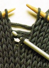 How to fix knitting mistakes.