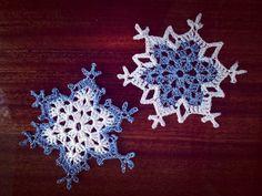 Snowflake – Free Crochet Pattern & Tutorial · The Magic Loop – Christmas Crochet Crochet Snowflake Pattern, Christmas Crochet Patterns, Crochet Christmas Ornaments, Holiday Crochet, Crochet Snowflakes, Crochet Motif, Crochet Doilies, Crochet Flowers, Free Crochet