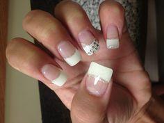 My bling wedding nails