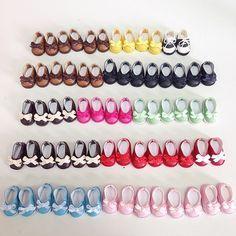 Zapatos para Blythe. Faltan las cajitas y listos para el @eventoblythemadrid :D #madrid #blythe #blythecon #eventoblythemadrid #playkekas