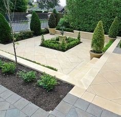 Front Garden Paving Ideas Front garden paving idea with something planted in the middle modern front garden ideas workwithnaturefo